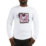 Pug Grandma Long Sleeve T-Shirt