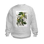 Audubon's Carolina Parakeet Kids Sweatshirt