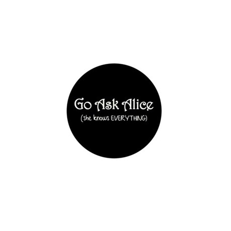 Go Ask Alice Twilight Mini Button