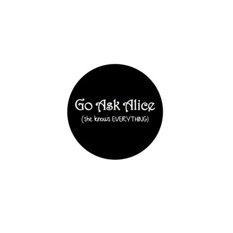 Go Ask Alice Twilight Mini Button (100 pack)