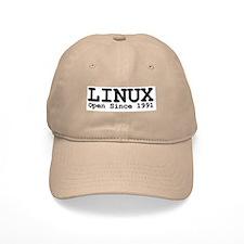 Open Linux Baseball Cap