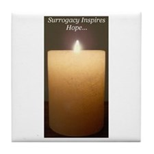 *Surrogacy Inspires Hope...* Tile Coaster