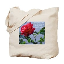 *Surrogacy is the True Meaning* Tote Bag