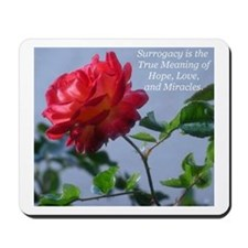 *Surrogacy is the True Meaning* Mousepad