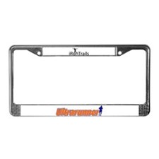 iRunTrails License Plate Frame