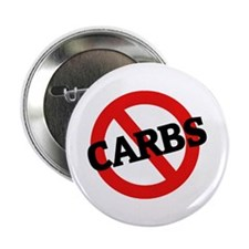 "Anti Carbs 2.25"" Button (10 pack)"