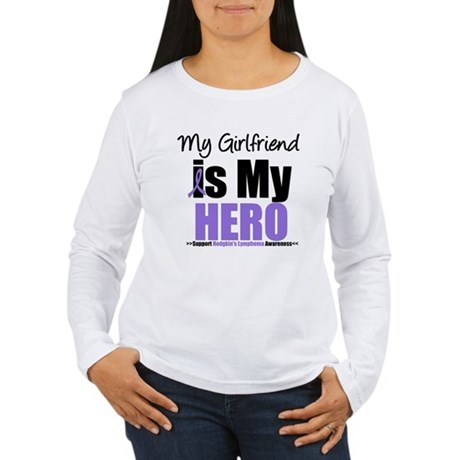 My Girlfriend is My Hero (HL) Women's Long Sleeve