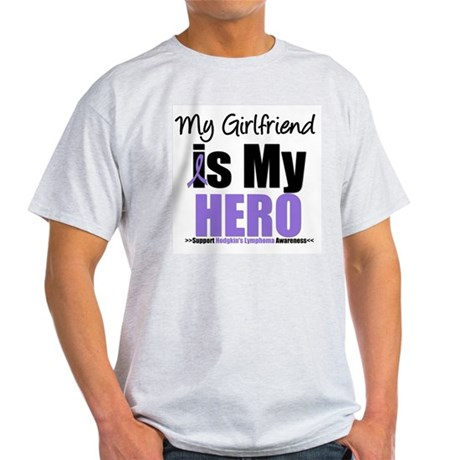 My Girlfriend is My Hero (HL) Light T-Shirt