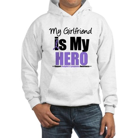 My Girlfriend is My Hero (HL) Hooded Sweatshirt