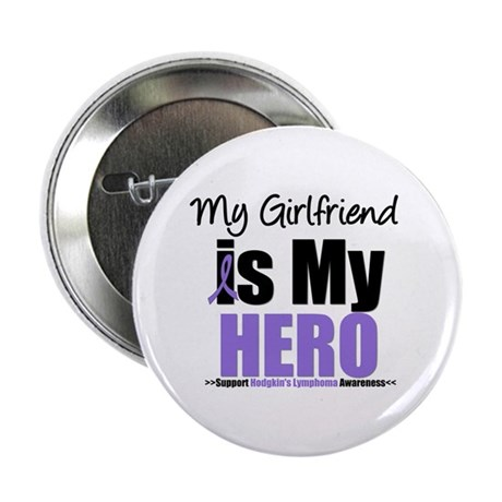"My Girlfriend is My Hero (HL) 2.25"" Button (10 pac"