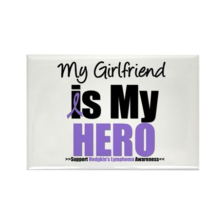 My Girlfriend is My Hero (HL) Rectangle Magnet (10