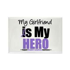 My Girlfriend is My Hero (HL) Rectangle Magnet