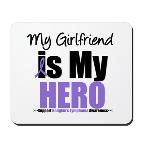 My Girlfriend is My Hero (HL) Mousepad