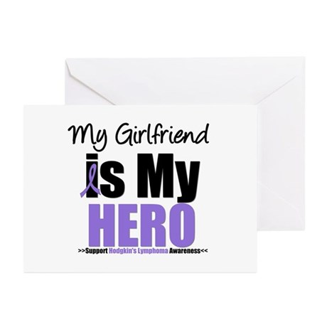 My Girlfriend is My Hero (HL) Greeting Cards (Pk o