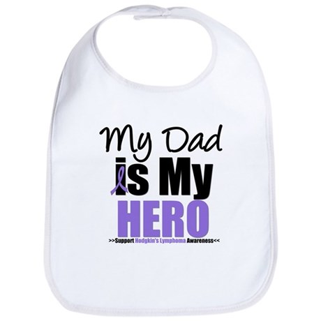 My Dad is My Hero Bib