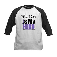 My Dad is My Hero Kids Baseball Jersey