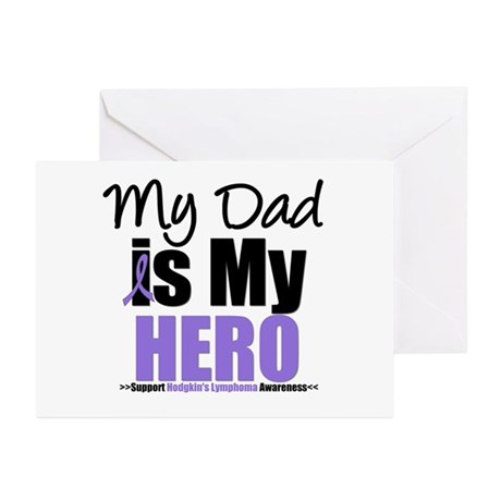 My Dad is My Hero Greeting Cards (Pk of 10)
