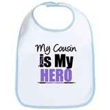 My Cousin is My Hero (HL) Bib