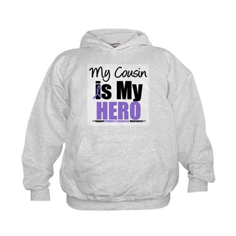 My Cousin is My Hero (HL) Kids Hoodie