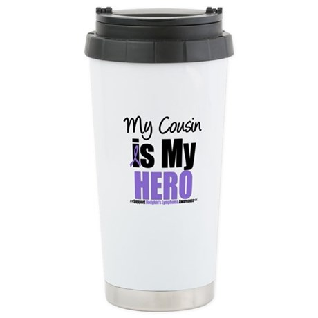 My Cousin is My Hero (HL) Ceramic Travel Mug