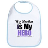My Brother is My Hero (HL) Bib
