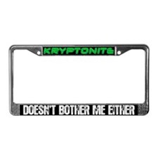 Edward Kryptonite License Plate Frame