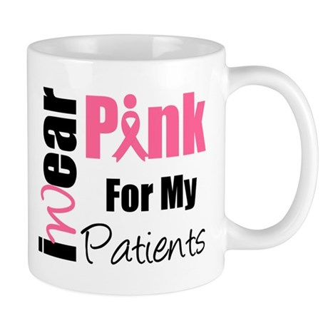 I Wear Pink (Patients) Mug