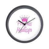 Princess Madisyn Wall Clock