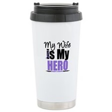 My Wife is My Hero (HL) Ceramic Travel Mug