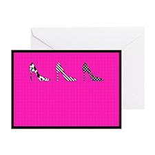 Heels Greeting Cards (Pk of 20)