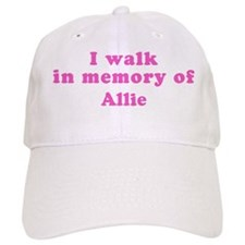 Walk in memory of Allie Baseball Cap