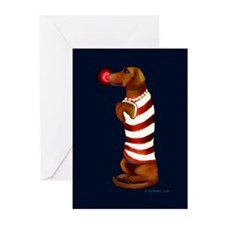 Dachshund Christmas Cards (Pk of 10)
