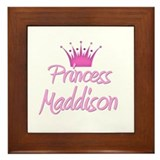 Princess Maddison Framed Tile
