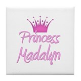 Princess Madalyn Tile Coaster