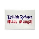 British Refugee Rectangle Magnet (100 pack)