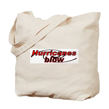 Hurricanes Blow Tote Bag
