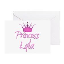 Princess Lyla Greeting Card