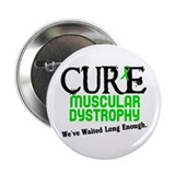 "CURE Muscular Dystrophy 3 2.25"" Button (10 pack)"