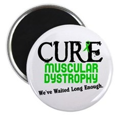 "CURE Muscular Dystrophy 3 2.25"" Magnet (10 pack)"