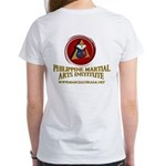 PHILIPPINE MARTIAL ARTS INSTITUTE WOMENS T-SHIRT