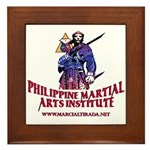 PHILIPPINE MARTIAL ARTS FRAMED TILE