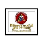 PHILIPPINE MARTIAL ARTS INST FRAMED PANEL PRI