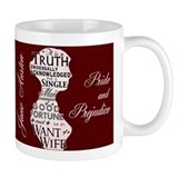 Jane Austen Quote Small Mug