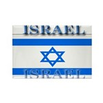 Israel Israeli Flag Rectangle Magnet (100 pack)