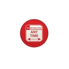 No Republicans Mini Button (10 pack)