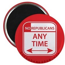 No Republicans Magnet