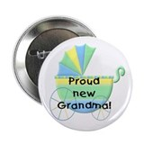 Proud New Grandma Button