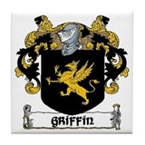 Griffin Coat of Arms Ceramic Tile