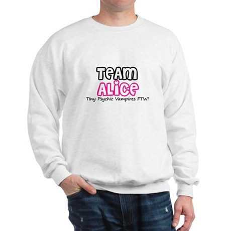 Team Alice Twilight Sweatshirt