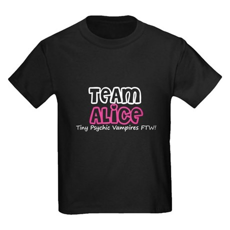 Team Alice Twilight Kids Dark T-Shirt